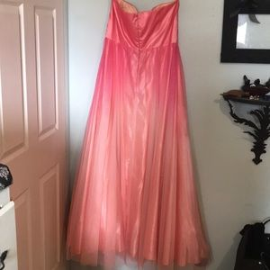 Deb Dresses - plus size prom dress